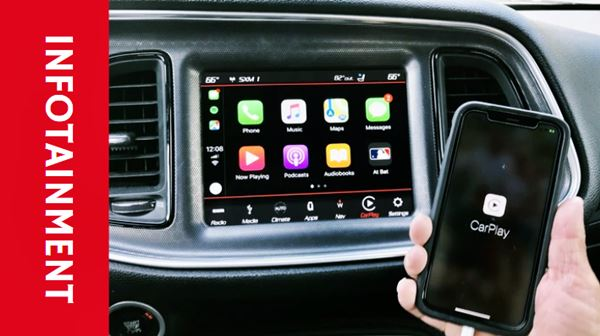 2022 Dodge Charger Infotainment