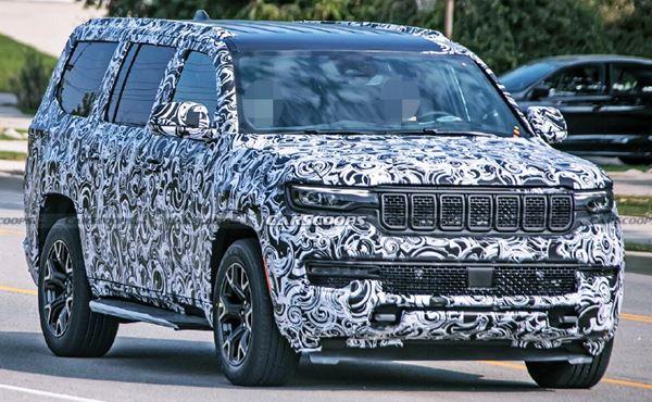 2023 Jeep Wagoneer Design