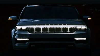2023 Jeep Wagoneer Spy Shots