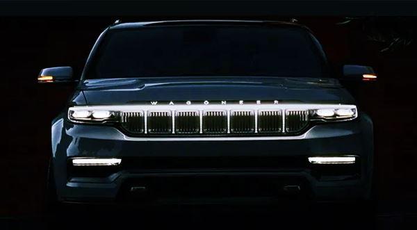 2023 Jeep Wagoneer Spy Shots