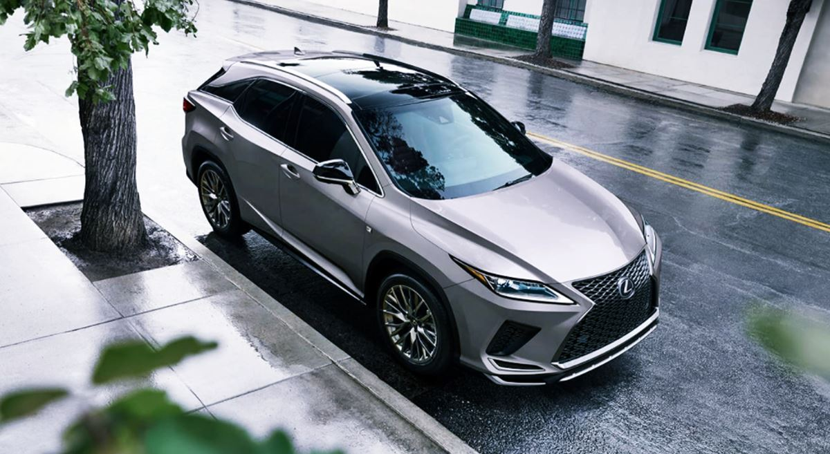 New 2022 Lexus RX 350 Design