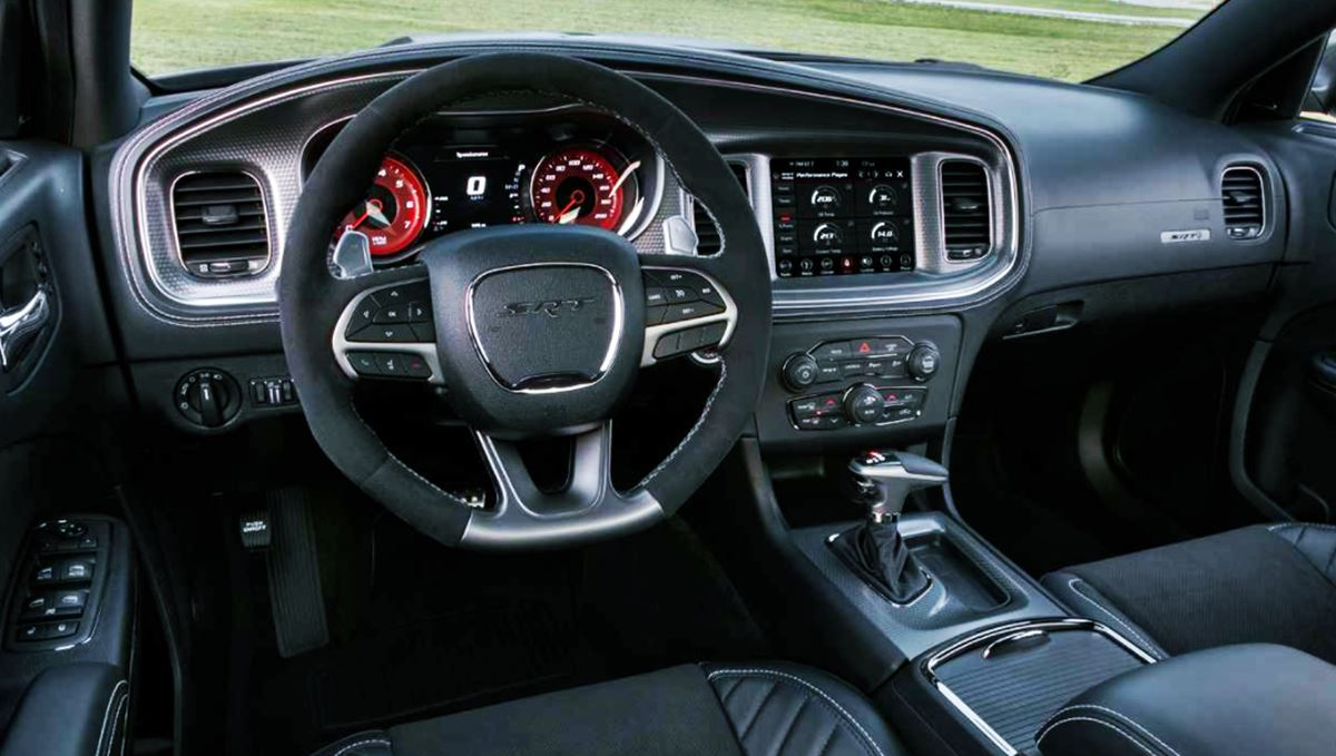 New 2022 Dodge Charger Interior