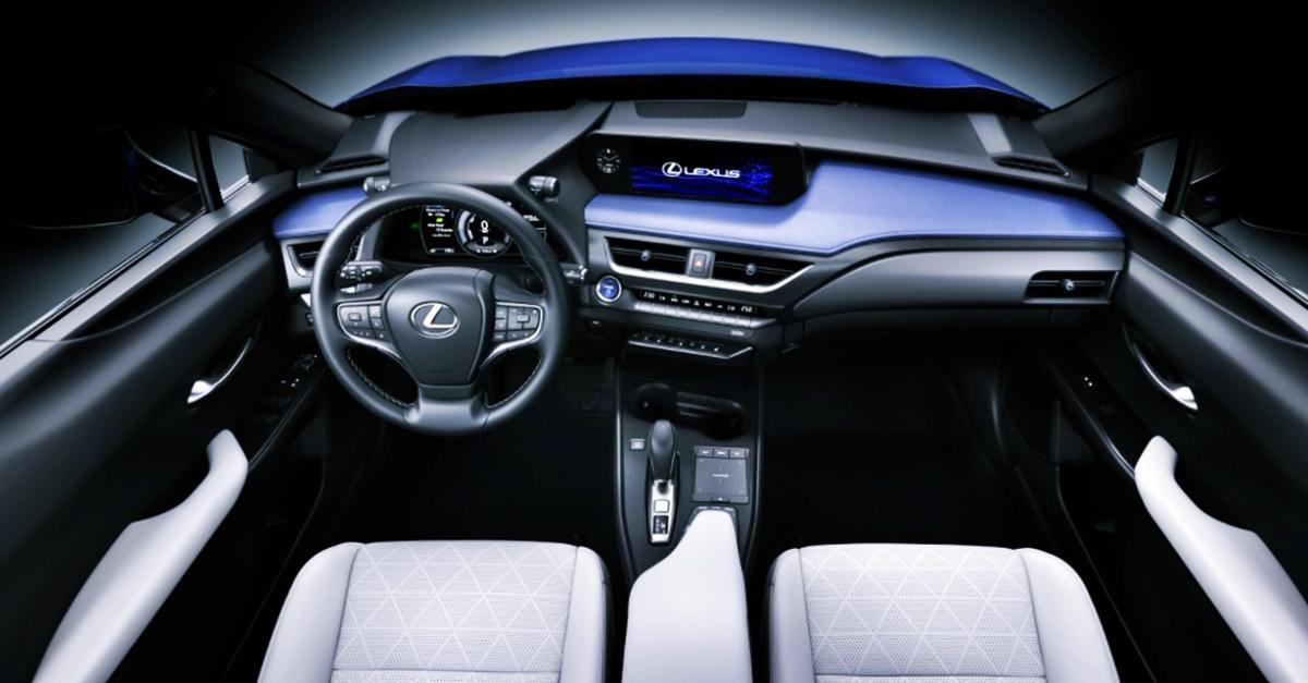 2022 Lexus UX 300e Interior