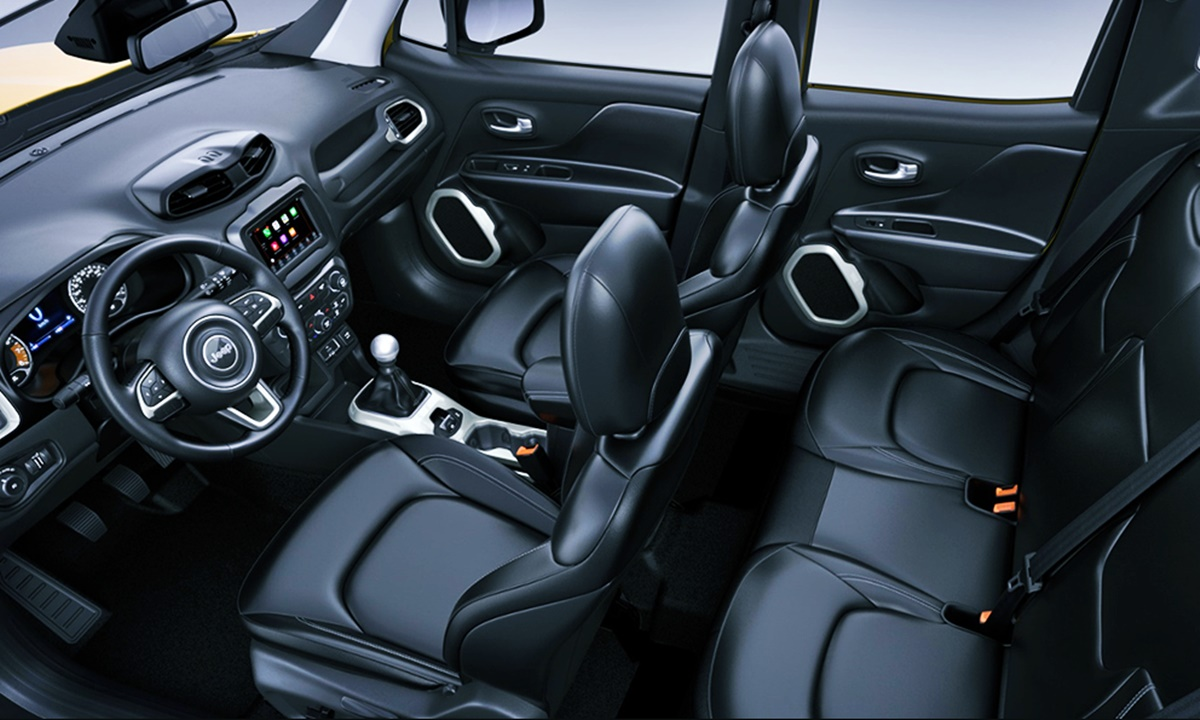 2023 Jeep Renegade Interior