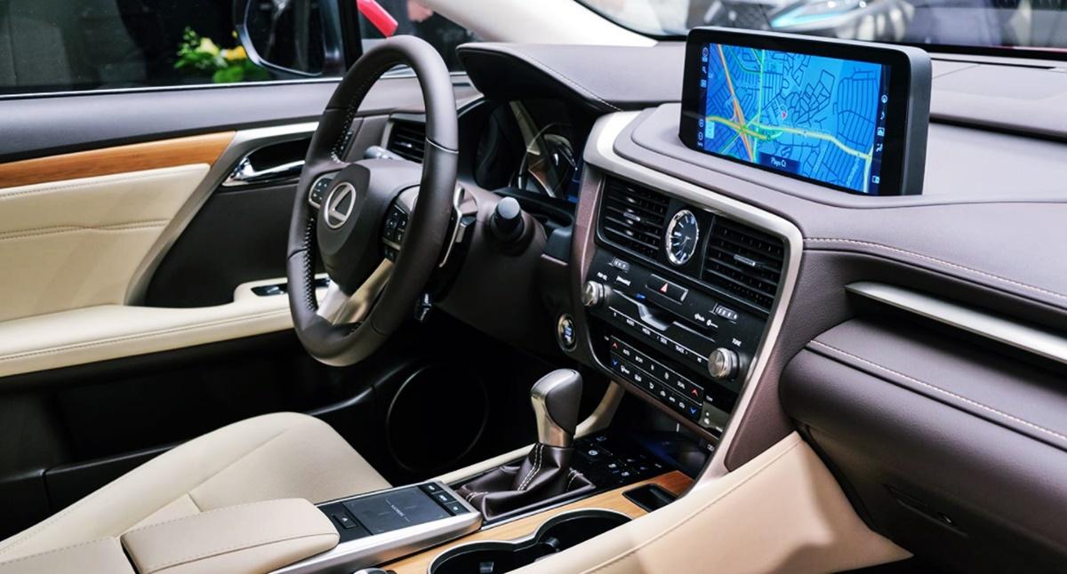 2023 Lexus RX 350 Interior Redesign