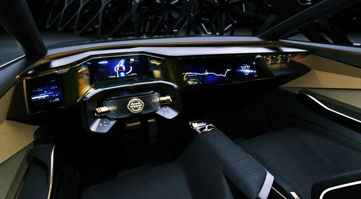 2023 Nissan Maxima Interior
