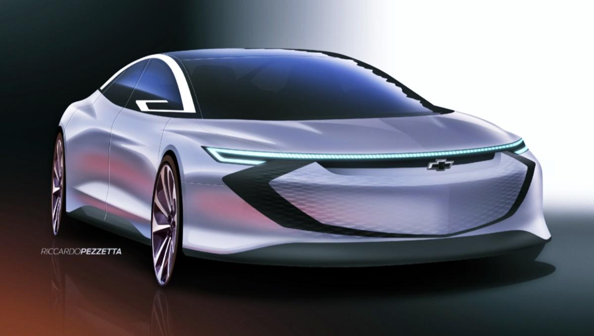 2023 Chevy Impala Exterior Design