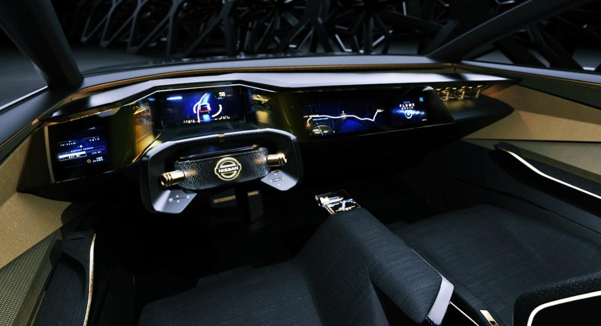 2023 Nissan Maxima EV Interior Design