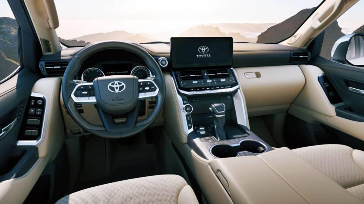 2023 Toyota Tundra Interior Design