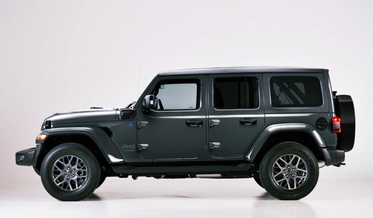 Jeep Wrangler 2023 Exterior Design